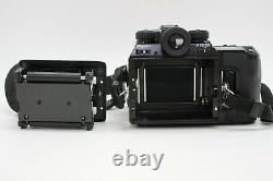 MINT PENTAX 645N Body With 120 Film Back, Camera Strap Medium Format From JAPAN
