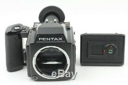 MINT+ PENTAX 645 Medium Format Camera Body with 120 Film Back From Japan #242