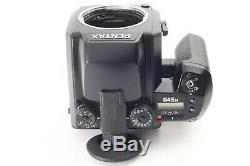 MINT Pentax 645N Camera+ SMC A 75mm f/2.8+120 film Back from Japan #121