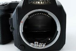 MINT Pentax 645N II NII Medium Format Camera Body 120 Film Back Japan546497