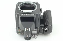MINT Pentax 645 Medium Format Film Camera Body 120 Film Back From JAPAN