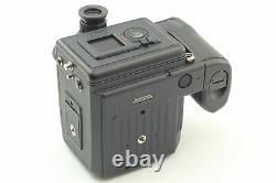 MINT in Box Pentax 645NII Film Camera 120 Film Back & Strap From JAPAN