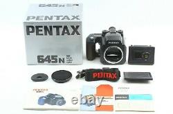 MINT in Box Pentax 645N Body Film Camera Medium Format with Film Back From JAPAN
