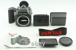 MINT+++ withSTRAP Pentax 645 Medium Format Camera Body 120 Film back From Japan