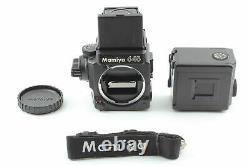 MINT withStrap Mamiya M645 Super Medium Format Film Camera 120 Film Back JAPAN
