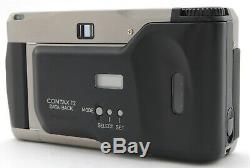 MINT with Case Contax T2 Film Camera T 38mm Lens with Data Back, Strap From JAPAN