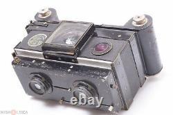 Macris Boucher Nil Melior Stereo Camera 120 Roll Film Back Boyer Topaz 72mm /x