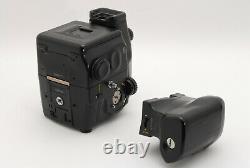 Mamiya 645 Pro Camera Body AE Finder 120 Film Back Sekor C 35mm F3.5 Lens #581