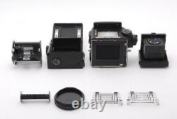 Mamiya 645 Pro Camera Waist Level Finder 120 Film Back Free Shipping #579