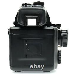 Mamiya 645 Pro Film Camera Body with AE Finder, 120 Back, and 80mm f2.8 Lens