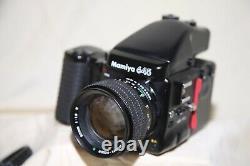 Mamiya 645 Pro Medium Format SLR Film Camera with 80 mm 1.9 lens & extra back