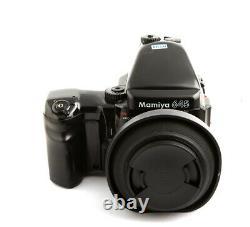 Mamiya 645 Pro TL Medium Format Film Camera 80 mm f1.9 lens 120 film back set