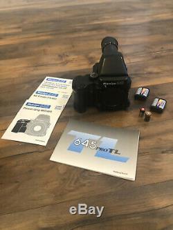 Mamiya 645 SV Pack II Medium Format Camera with Multiple Film Backs