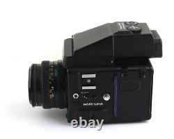 Mamiya 645 Super Medium Format SLR Film Camera 80mm F2.8N Lens 120 film back