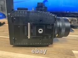 Mamiya 645 Super Medium Format SLR Film Camera Body, 80 mm 12.8 lens, 120 Back