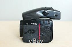 Mamiya AFD 645 medium format autofocus Camera body only with 120mm film back