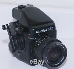 Mamiya M645 Pro TL Medium Format Camera Body & Mamiya 55mm AE Finder & Film Back
