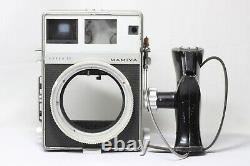 Mamiya Press Super 23 Camera Silver with Sekor 100mm F3.5 Lens 6x9 Film Back Grip