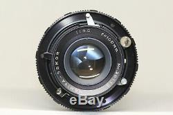 Mamiya Press Super 23 Film Camera Sekor 100mm F/3.5 Lens 6x9 Back Made In Japan
