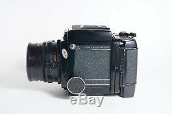 Mamiya RB67 Pro 6x7 Film Camera + NB 127mm F3.8 Lens + 120 Back + WLF TESTED