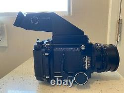 Mamiya RB67 Pro S Camera MINT, with TWO Lenses, PRISM VF & 120 Film Backs