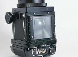 Mamiya RB67 Pro S Film Camera + Sekor C 180mm F4.5 + WLF + 120 Back TESTED