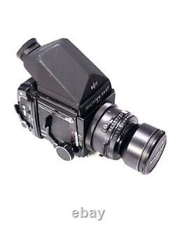 Mamiya RB67 Pro S Film Camera with 180mm Lens And Prism Viewfinder 120mm Back