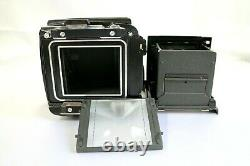 Mamiya RB67 professional S camera Body with120 Film Back. From JAPAN