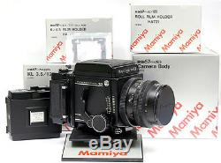 Mamiya RB PRO SD CAMERA SET KIT (BODY + 127mm LENS + SD 6x4.5 + 6x7 FILM BACKS)