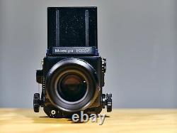 Mamiya RZ67 Pro 6x7 RZ Camera + 180mm Lens +120 Film Back Medium Format