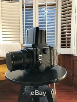 Mamiya RZ67 Pro 90mm Lens Medium Format SLR Film Camera 120mm back