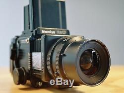 Mamiya RZ67 Pro II Camera + 90mm Sekor Lens + 180mm W-N Lens + 120 Film Back