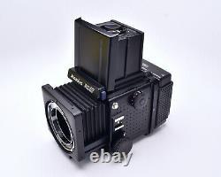 Mamiya RZ67 Pro Medium Format Film Camera Waist Level Finder 120 Back (#7450)