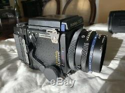 Mamiya RZ67 Pro Medium Format SLR Film Camera with 110mm Lens + 2 Film Backs