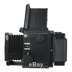 Mamiya Rz67 6x7 Pro Medium Format Slr Film Camera + 120 Film Back Holder Kit
