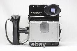 Mamiya Universal Press Film Camera Sekor 100mm F/3.5 Lens 6x9 Film Back Grip