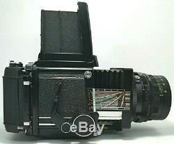 Mamiya rb67 Pros Pro S Medium Format Camera withSekor 65 f4 & 120 Film Back Japan