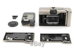 MintLeica Minilux Zoom Film Camera with Flash, Case, Data Back and Extras-#2058