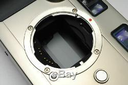 Mint CONTAX G2 D G2D Rangefinder Film Camera + DATA BACK GD-2 Strap JAPAN #325