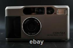 Mint CONTAX T2D T2 D Point Shoot 35mm Film Camera with Data Back From Japan