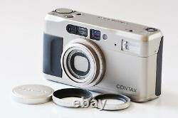 Mint CONTAX TVS II Data Back 35mm Point & Shoot Film Camera Carl Zeiss Japan
