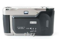Mint Contax T2 Data Back 35mm Point & Shoot Film Camera Zeiss from Japan