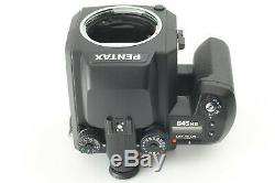 Mint Pentax 645NII Camera+SMC A 75mm f/2.8 MF Lens+120 Film Back From Japan