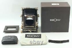 Mint in BOX Ebony SV23 Medium Format Film Camera With 6x9 Film Back From Japan