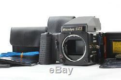 Mint with2 F. Backs Mamiya M645 Super Medium Format Film Camera From Japan #244