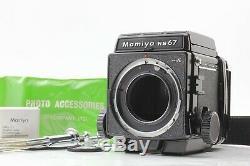 NEAR MINTMamiya RB67 Pro S ProS Camera Body with 120 Film Back from JAPAN