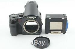 NEAR MINT MAMIYA 645 AFD Medium Format Camera with 120 Film Back from JAPAN