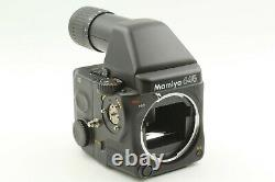 NEAR MINT Mamiya 645 Pro Camera with AE Finder 120 Film Back from Japan #1642