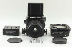 NEAR MINT++ Mamiya RZ67 Pro II Film Camera Sekor Z 65mm f/4 Lens 120 Film Back