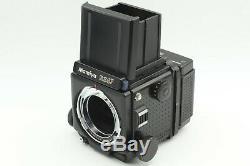 NEAR MINT Mamiya RZ67 Pro with 120 Film back 6x7 Camera Body From JAPAN #436